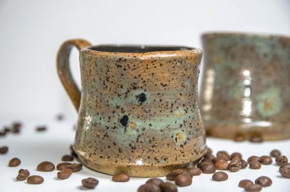 Sea and Stone Specked Mug