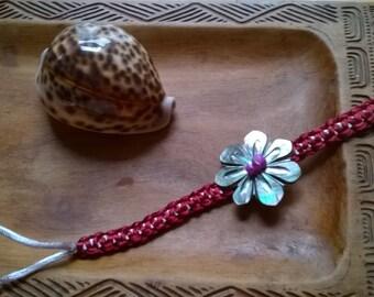 Tahiti Pearl flower bracelet