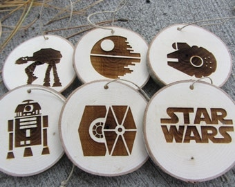 Star Wars Christmas Ornaments | Rustic Christmas Ornaments
