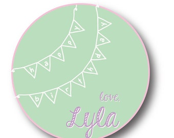 Personalized Gift Stickers_Birthday Banner
