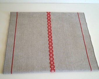 Vintage table runner. Designed in Sweden  by People who love India.  By INDISKA 100 % cotton 141 cm x 41 cm Woven table runner Table decor.