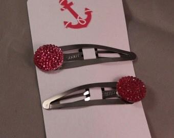 Sparkle hair clips