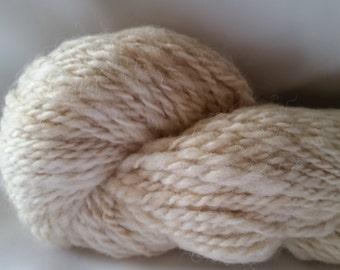 Alpaca Huacaya Handspun Yarn - Pebbles