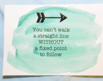 You Can't Walk a Straight Line