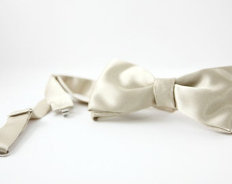 Bow tie Satin collection made in Italy