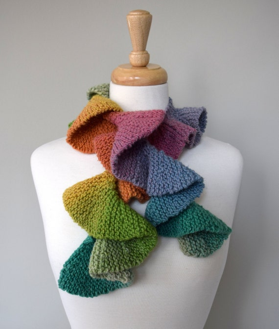 diy knitting kit happy place scarf