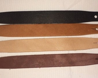 Leather Bracelet Blanks 1 1/4 x 9 inches. Multi color 25 Pack 8-10 Oz beautiful Top Quality!!