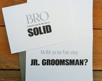 Wedding Gift For Junior Groomsmen : ... junior groomsman gift ask groomsman groomsman gift wedding stationery