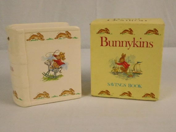 Royal Doulton Baby Gifts Australia : Royal doulton bunnykins savings book money bank in box