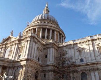 St. Paul's Cathedral, London, March 2015