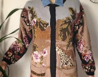 Vest wool Vintage
