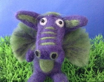 Dragon felt animal