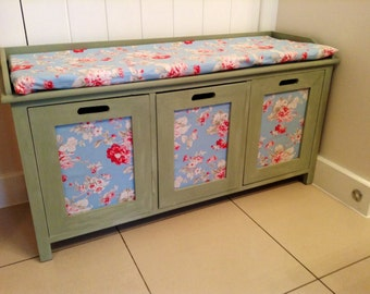 Seat and drawers