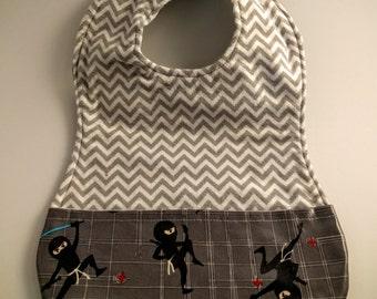 Ninja Toddler Bib