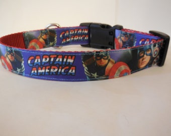 Captain America Collar