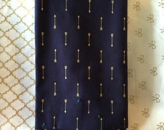 Gold Print Burp Cloth