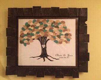 16x20in. Custom wood frame