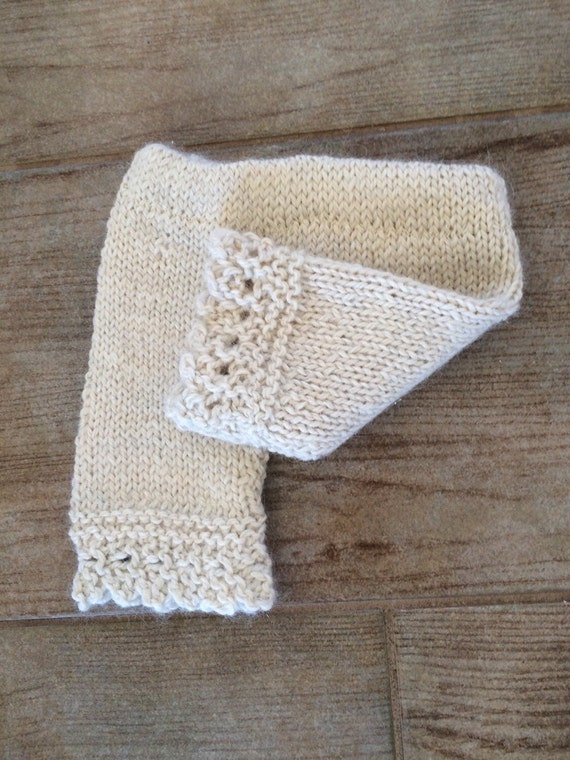 Lace bottom Baby Bloomers, Soft-Hand knit newborn-3 months, Baby Alpaca, shimmer,  Baby Shower Gift