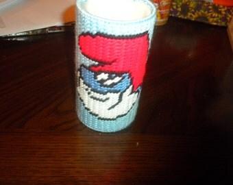 PaPa Smurf Candle Wrap