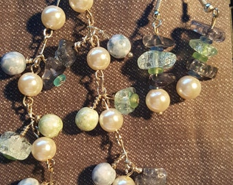 Bracelet & Matching Earrings