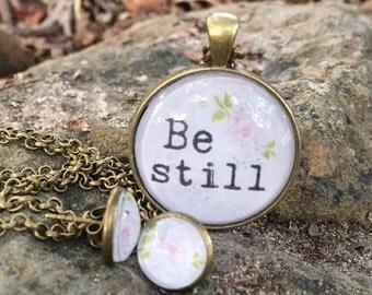 Be Still Jewelry Set