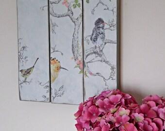 Decorative Wall Art, Wall Plaque, Wooden Wall Art