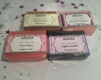 Pack of 4 Luxurious Handmade soaps