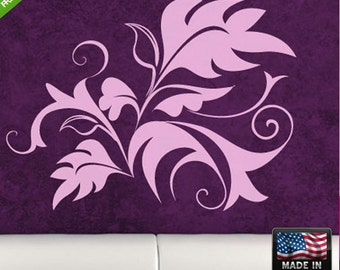 Flowers Wall Decal Flowers Wall Decal Flower Wall Sticker Flower Sticker For Wall floral wall decals (Z116)