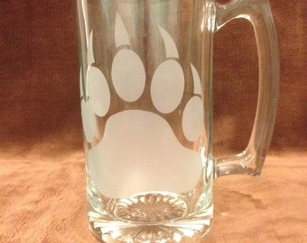 Sand Blasted 27 oz. Beer Mug