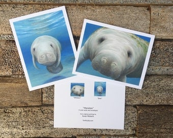Manatee Notecards