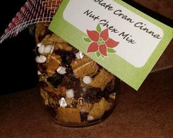 Chocolate Cran Cinnanut Chex Mix