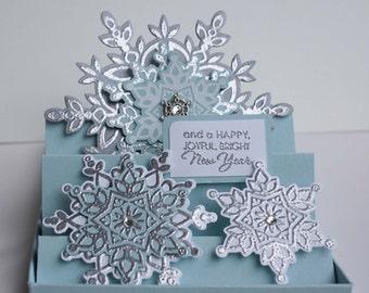 Christmas Gift Card Holder/ Handmade Card