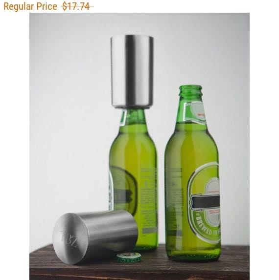 personalized bottle cap bottle openers leonardo by shoplexxi. Black Bedroom Furniture Sets. Home Design Ideas