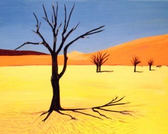 Nanib desert trees