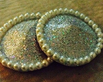 Silver Shimmers and Pearly Pearls pasties