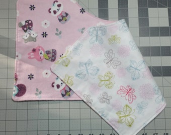 Burp Cloth, Pink