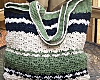 Shell Stitch Beach Bag