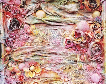 Secret Garden - Original mixed media artwork