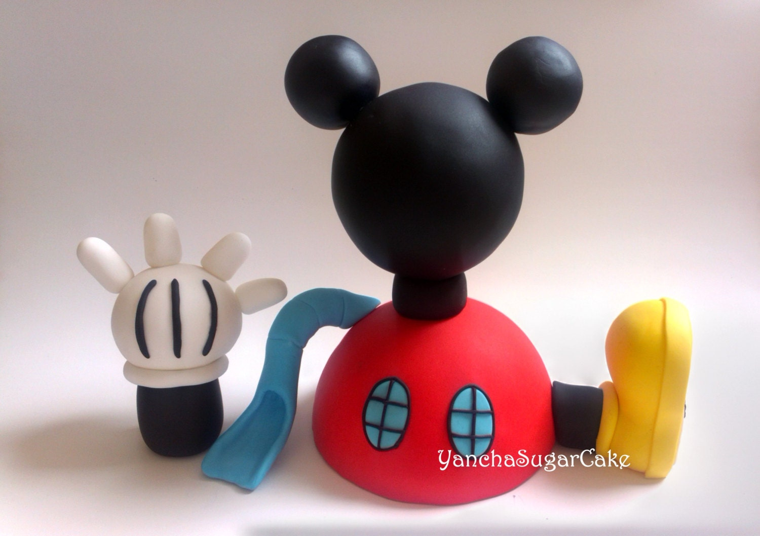 Fondant Mickey Mouse Clubhouse Edible Cake Topper Cupcake