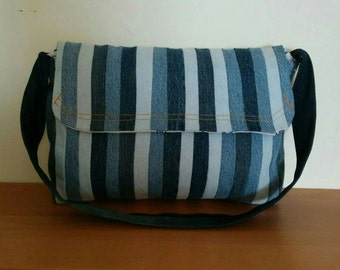 RELO Handmade Recycled jeans bag -