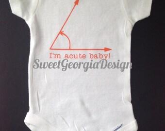 I'm acute baby!- bodysuit, baby gift,baby shower
