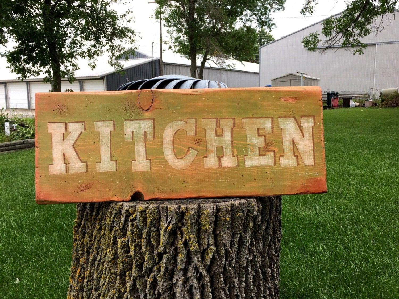 Kitchen Wood Sign Kitchen Decor 26x10x1 Kitchen Signs