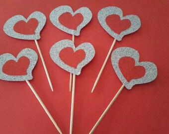 Valentine/Wedding/Wedding Anniversary/Engagement Cake Toppers