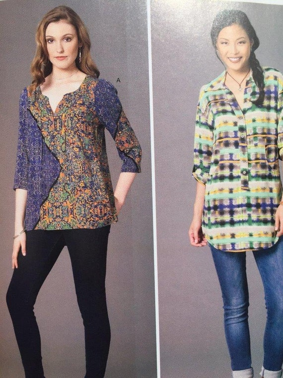 Sewing Pattern For Ladies Blouse 62