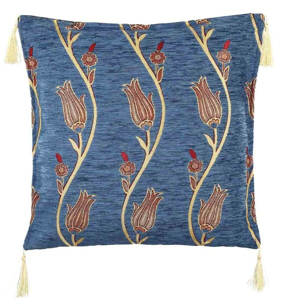 Turkish Kelim Pillow Cover Decorative Kilim by Antalyakilims