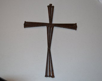 Square nail cross