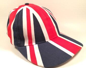 Vintage British Flag Low Profile Dad Hat