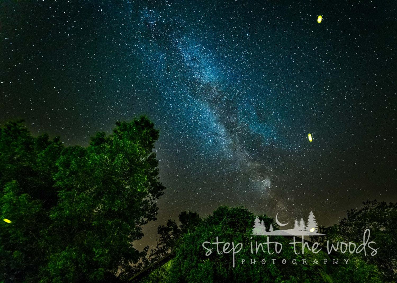 Milky Way Firefly Bomb Night Sky Starry Night Stars in the