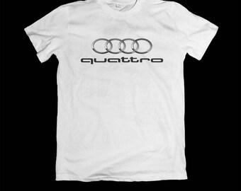 Audi - Audi tshirt - Quattro - Audi TT Audi Quattro - Audi sport