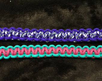 FUNDRAISER - Custom Paracord Bracelet 275 thickness for kids and ladies